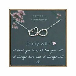 Efytal Wife Gifts, Wife Birthday Gift Ideas For Her, Romantic Sterling Silver In