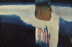 Swedish Artist. Oil On Canvas. Abstract Composition. 1960s.