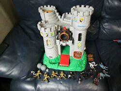 Fisher Price Imaginext Castle With Knights And Treasure Chest Great Adventures