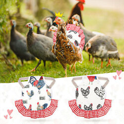 Chicken Saddle for Hens Pet Feather Protector Chicken Clothes Chicken Saddles