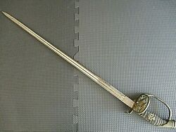 Rare Imperial Prussian Cavalry Sword + Necklace With Czarist Banknote