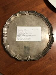W.drummond Andco Melbourne Australian Tray Sterling Silver