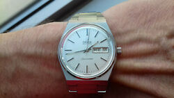 Omega Seamaster 166.0215 Automatic Cal. 1022 Silver Dial New Old Stock Watch Uhr
