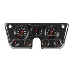 Classic Instruments 67-72 Chevy Pickup G-stock Gauge Set-black And Green