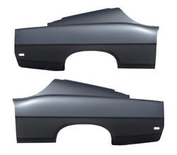 New Rear Set Of 2 Lh And Rh Side Quarter Panel Amd Fits 1969 Ford Fairlane