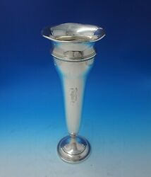 Colonial By Watson Sterling Silver Vase Jb730 Weighted 16 X 4 1/2 5080