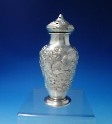 Repousse By Kirk Sterling Silver Muffineer 10l 6 1/4 X 2 1/8 5.8 Ozt. 5082