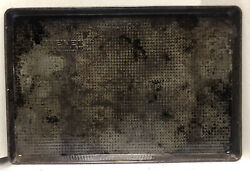 Ovenex The New Baking Metal Cookie Sheet Jelly Roll Baking Pan 17-1/2andrdquox12andrdquo Vtg
