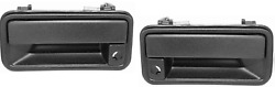 1995 1996 1997 1998 Chevy Gmc Truck For Metal Outside Door Handles Front Pair