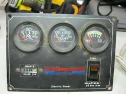 Onan Control Panel For 8kw Diesel Generator With Cable