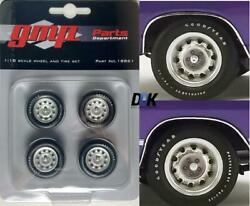 Gmp 18861 Muscle Car Rallye Wheels And Tires Set Of 4 Diecast 118