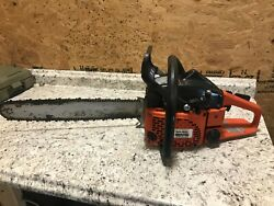Dolmar Ps-540 Chainsaw 18 Bar - Excellent Working Condition, Starts Easily