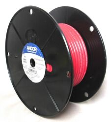 Ancor Marine Grade Red Tinned Copper Wire 100 Ft, 6 Awg 112510 New