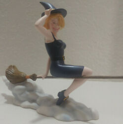 Bewitched Porcelain Statue Figurine 5 Tall