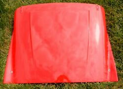 Andnbsptr3a Tr3b Hood Bonnet Restored In Signal Red
