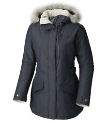 New Columbia Women Penns Creek Insulated Jacket Navy Xs/tp