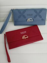 Wallet Folded Over For Women PU Leather $7.25