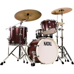 Natal Drums Cafe Racer Traditional Jazz 3-piece Shell Pack W/18 In. Bass Drum