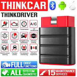 Thinkdriver Car Obd2 Scanner Bluetooth All System Abs Epb Tpms Immo Oil Reset