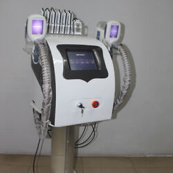 Portable 2 Handles Cryolipolysis Machine Cool Skin Cold Freeze Body Sculpting