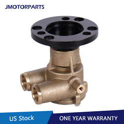Crank Mounted Sea Raw Water Pump For 79-93 Volvo Penta Aq Replaces 857451 856952