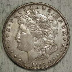 1894-o Morgan Dollar, Choice Extremely Fine, Original Better Date 0419-24