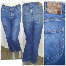 Dc Shoes Jeans Retro W34 Il32 Amity Straight Leg Awesome Distressed Rare 90s