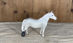 Rare White Porcelain Horse By Beswick England Connemara No. 1641 Still With Tag