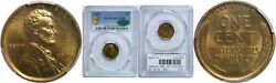 1910 Lincoln Cent Pcgs Pr-65 Rd Cac