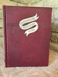 Alabama's Crimson Tide, 1892-1945 By James S. Edson,very Rare And Sought After