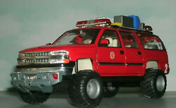 1/27 Scale 2001 Chevy Suburban Fire Dept Mountain Rescue 4x4 Custom Made Model