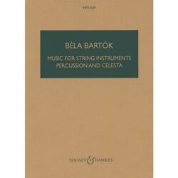 Music For String Instruments Percussion And Celesta Scores/books By Bela Bartok
