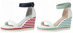 Marco Tozzi Ladies By Guido Maria Kretschmer 2-2-88703-26 Wedge Sandal Sandals