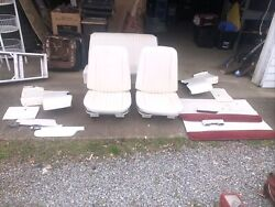 1966 Chevelle Gto Cutlass Convertible Bucket Seats And Rear Seat And Panels