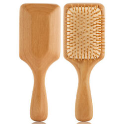 Bamboo Wooden Hair Care Brush Massage Comb Scalp Air Cushion Comb Anti-static