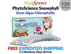 120 Boxes Phytoscience Double Stemcell Snowphyll Snow Algae Anti-aging