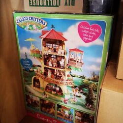 Epoch Sylvanian Families Calico Critters Tree House Critters Lot Figures More