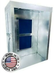 4andrsquo X 5and039 X 7and039 Powder Coating Spray Booth Paint Booth Semi-downward Draft Led