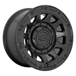 20x9 4 Wheels Rims Fuel 1pc D729 Tracker Black +1mm 5x114.3/127