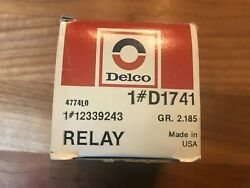 1964-66 Corvette Horn Relay Nos In Later Gm-style Box