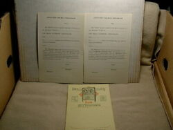 1929 Mills Hi-boy Jukebox Music Menu Plus Two Music Contracts - Old And Original