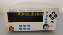 Pre-owned Exfo Pm-1100 Optical Power Meter In Good Condition