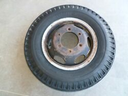 16 6 Lug Split Rim Steel Wheel Chevrolet Gmc Truck 1960and039s 1 Ton