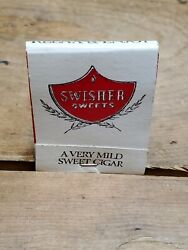 Swisher Sweets Cigar Matchbook, Vintage Paper Matches D.d. Bean And Sons Co