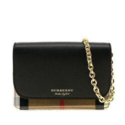 Burberry Hampshire Crossbody Small Derby House Check New $693.00