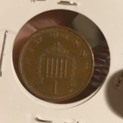 Rare 1971 Andldquonew Pennyandrdquo First Edition Coin Circulated And Used-uncertified