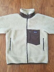 Menand039s Retro X Deep Pile Fleece Jacket Oatmeal Color Size Xs Fall 2000