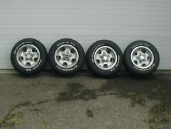 Pickup. Oldsmobile 14 Rally Wheels With Goodrich Radial T/a Tires. Pickup Only.