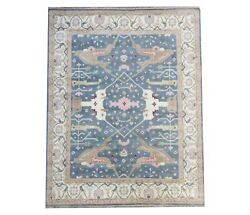 12x15 Oushak Hand-knotted Wool Area Rug Oriental Carpet 11'11 X 14'7