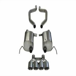 Corsa 14766 2.75 Axle-back Dual Rear Exit With Quad 4.5 Polished Tips New